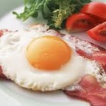 ochiuri cu bacon